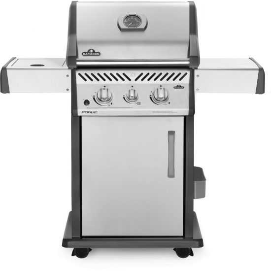 Built In Flat Top Sizzle Zone Propane Gas Grill Head With Two Infrared Burners