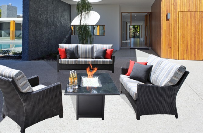 Flight Outdoor Seating Wicker Patio Furniture in Toronto