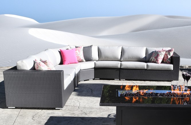 Chorus Outdoor Sectional Wicker Patio Furniture in Toronto