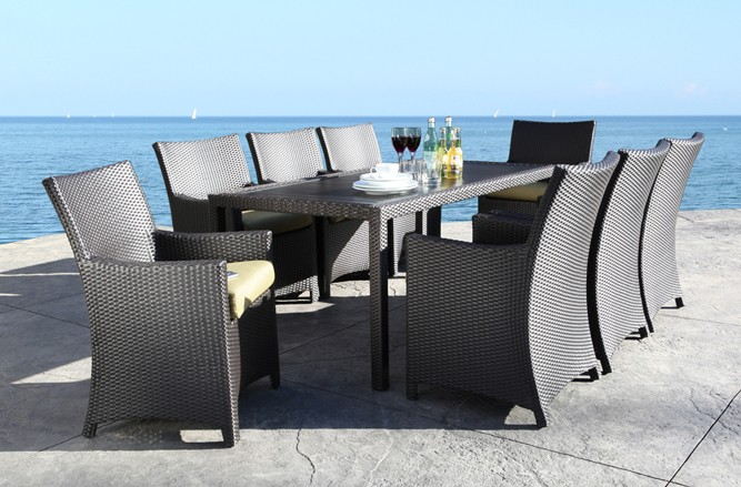 Flight Dining Wicker Patio Furniture