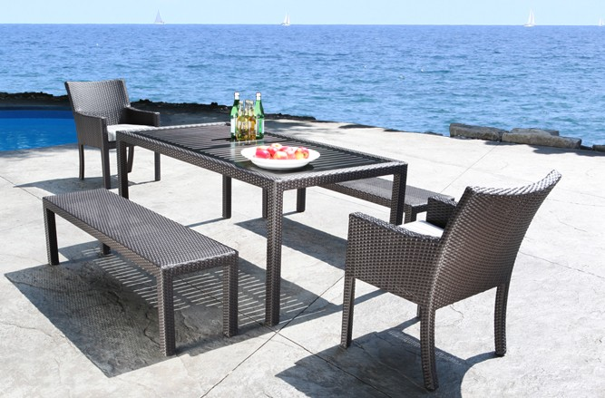 Cloud Dining Wicker Patio Furniture