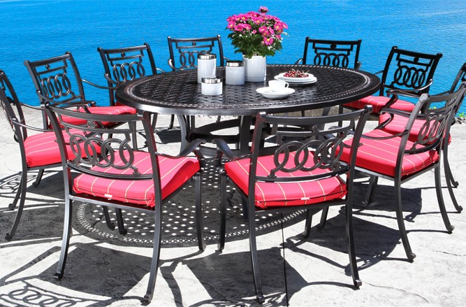 Verona Dining Cast Aluminum Patio Furniture in Toronto