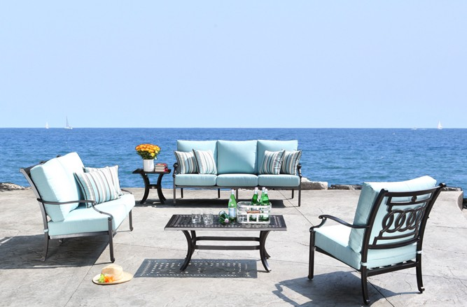 Verona Seating Cast Aluminum Patio Furniture in Toronto