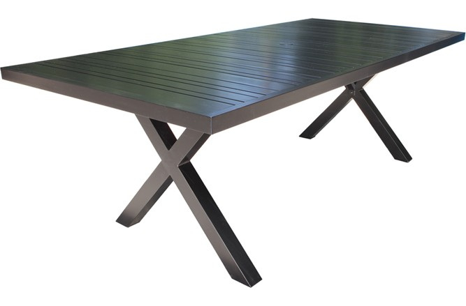 Cast Aluminum Patio Furniture -Milano Outdoor Dining Table