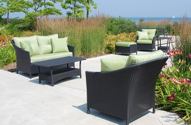 Luna Seating Wicker Patio Furniture