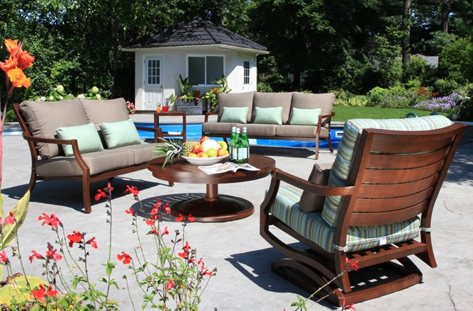 Mission Seating Cast Aluminum Patio Furniture in Toronto