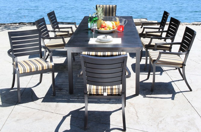 Mission Dining Cast Aluminum Patio Furniture in Toronto