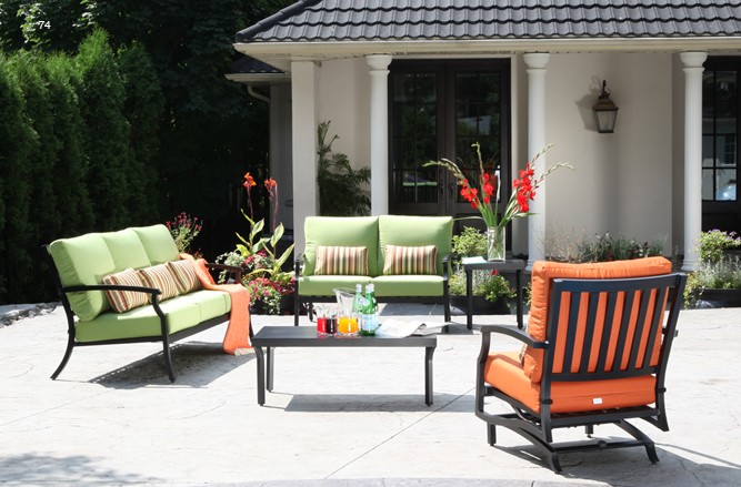 Viga Seating Cast Aluminum Patio Furniture