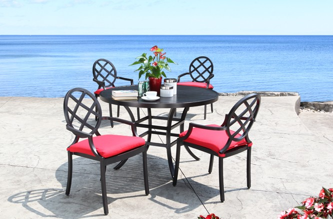 Newport Dining Cast Aluminum Patio Furniture