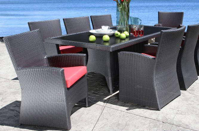 Bimini Dining Wicker Patio Furniture