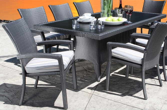 Chorus Dining Wicker Patio Furniture in Toronto