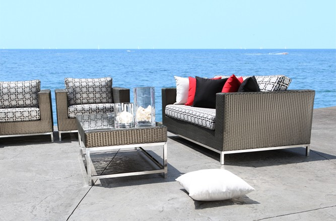 Elegance Seating Stainless Steel Patio Furniture in Toronto