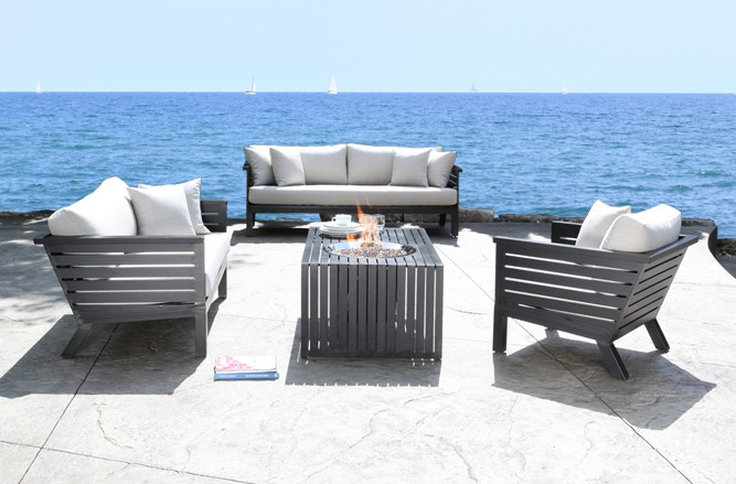 Apex Seating Cast Aluminum Patio Furniture in Toronto