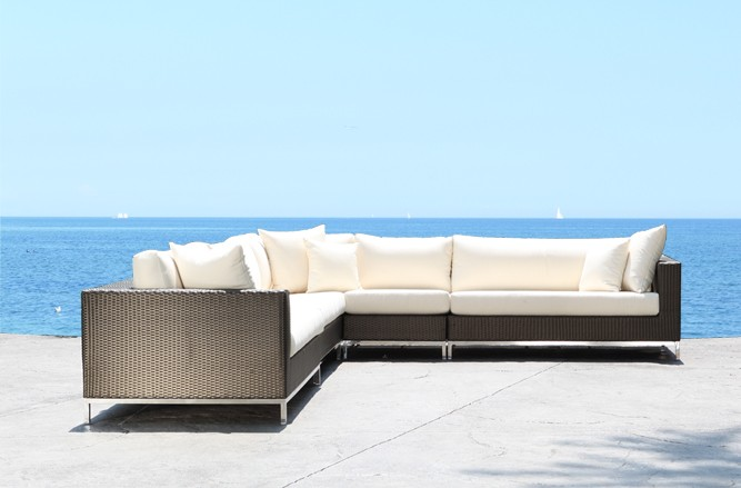 Elegance Outdoor Sectional Stainless Steel Patio Furniture in Toronto
