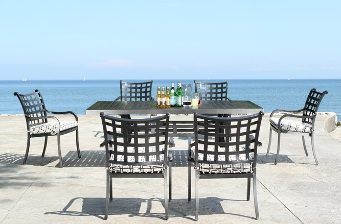 Cast Aluminum Patio Furniture - Estate Dining