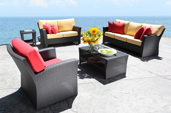 Outdoor Wicker Patio Furniture -Bimini Conversation Set in Toronto