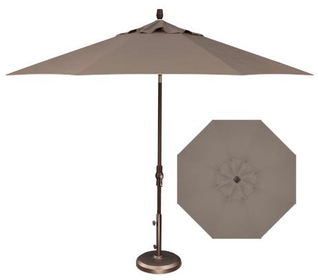 9 Foot Umbrella Taupe Bishop S Centre Bishop S Outdoor