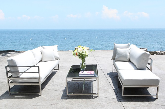 SOHO Seating Stainless Steel Patio Furniture in Toronto