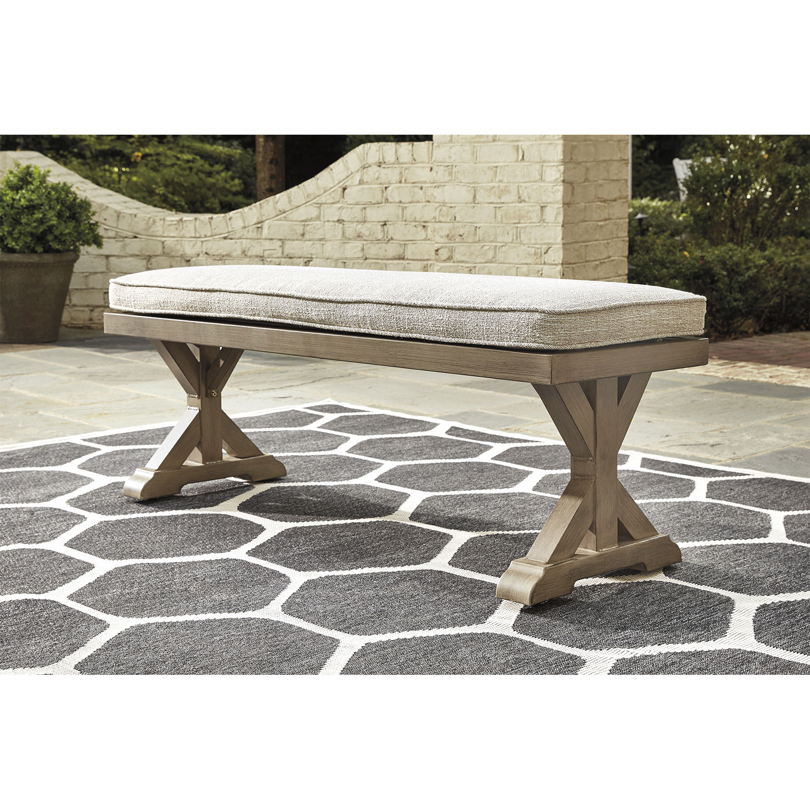 Ashley Direct Bench With Cushion P791-600