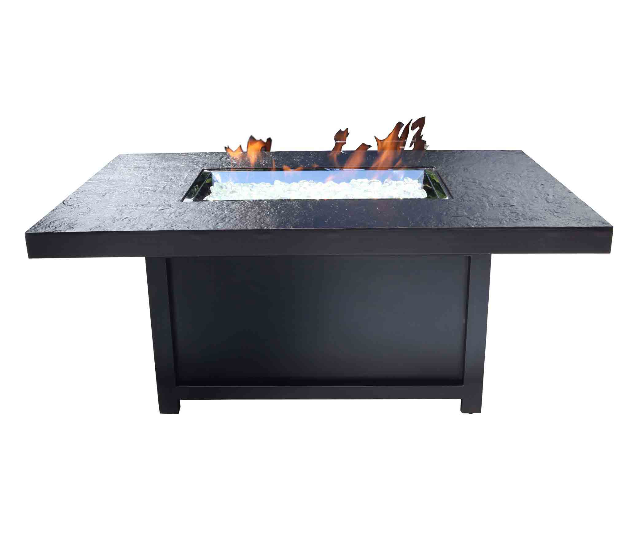 Outdoor Fire Pit Natural Gas Venice 50 X 32 Bishop S