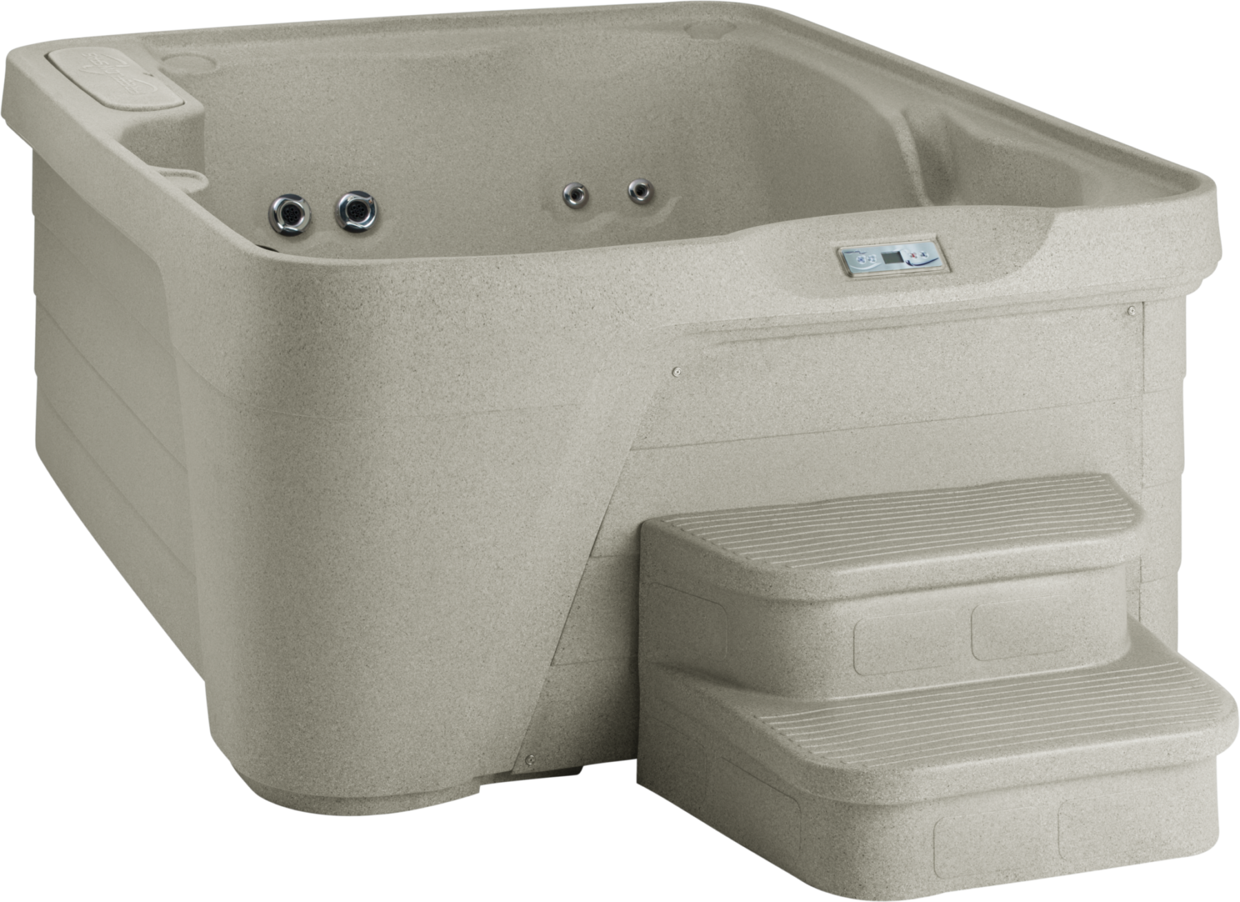 lxl square prod jacuzzi tub j hot ground above product person