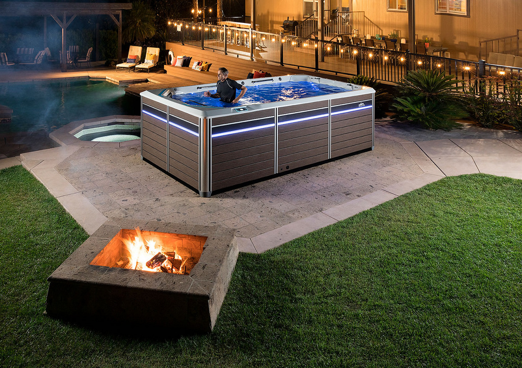 Endless Pools 174 E550 Fitness System Hotspring Freeflow